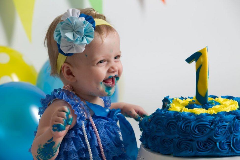 Φωτογράφηση τα πρώτα γενέθλια